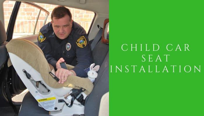 child car seat installation