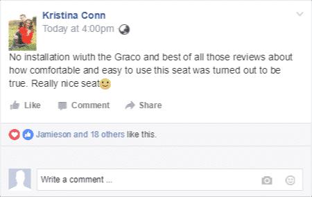 Graco 4ever toddler car seat