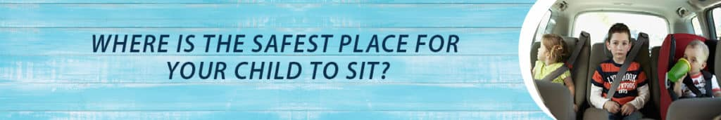 Where is the safest place to sit?