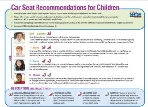 car_seat guidelines