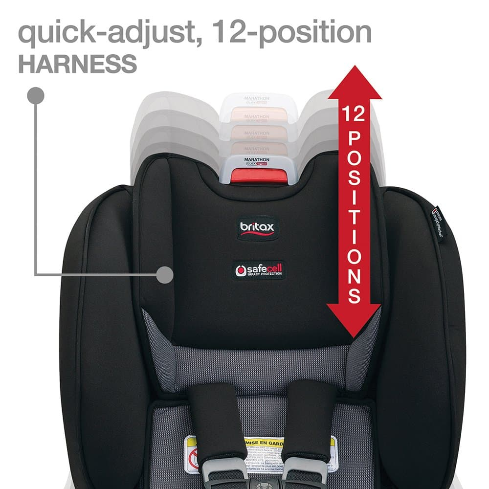 quick adjust 12 position harness