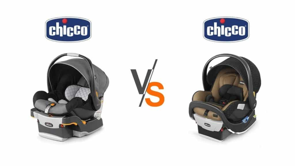 Chicco Keyfit 30 vs. fit2